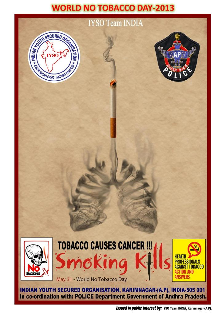 World No Tobacco Day 2013 Healthy Citizens Healthy